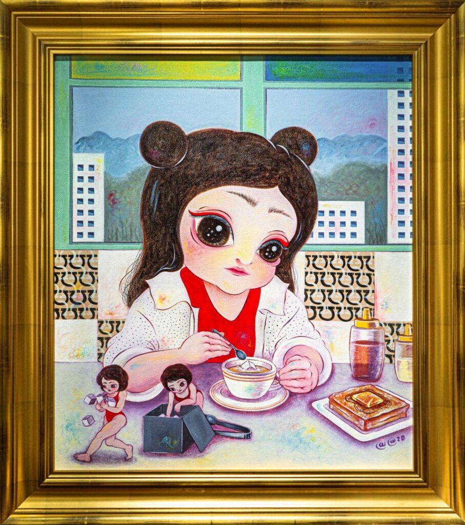 Cuadro de la artista Afa Anfa